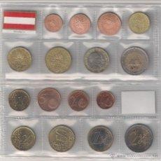 Euros: TIRA DE LAS MONEDAS DE EURO DE AUSTRIA DEL AÑO 2007. SIN CIRCULAR.. Lote 22306600