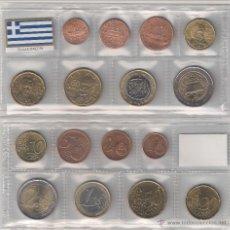 Euros: TIRA MONEDAS DE EUROS DE GRECIA (SIN CECA) AÑO 2007. SIN CIRCULAR.. Lote 46135469