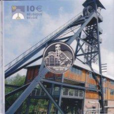 Euros: 10 EUROS BÉLGICA 2006 EN PLATA PROOF, BOIS DE CAZIER, MARCINELLE. Lote 47403986