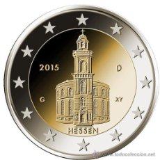 Euros: ALEMANIA 2 EUROS 2015 IGLESIA DE SAN PABLO EN FRANKFURT CECA D. Lote 51471935