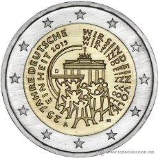 Euros: ALEMANIA 2 EUROS 2015 25 ANIVERSARIO DE LA REUNIFICACIÓN ALEMANA CECA D. Lote 51499208