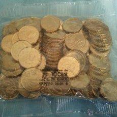 Euros: BOLSA DE 100 MONEDAS DE ESPAÑA DE 10 CENTIMOS DE EURO DEL AÑO 2010 SIN CIRCULAR. Lote 47675251