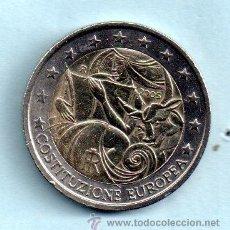 Euros: MONEDA DE 2 EUROS DE COSTITUZIONE EUROPEA 2005 CIRCULADA. Lote 47735521