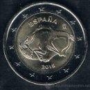 Euros: MONEDA CONMEMORATIVA DE 2 € ESPAÑA 2015. CUEVAS DE ALTAMIRA. Lote 154564326