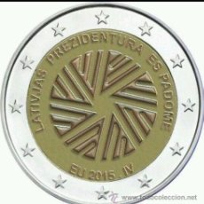 Euros: LETONIA 2015 CONMEMORATIVA. Lote 94649015