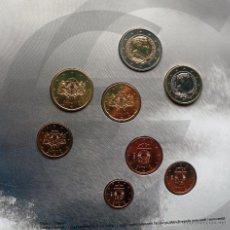 Euros: BLISTER DE EUROS DE LETONIA DEL 2014. Lote 48269478