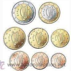 Euros: SERIE / SET / TIRA EUROS IRLANDA 2014 8 MONEDAS. Lote 49265077