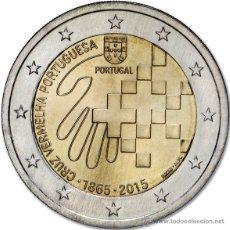 Euros: PORTUGAL 2 EUROS 2015 150 ANIV. CRUZ ROJA PORTUGUESA. Lote 214871826