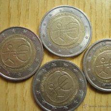 Euros: 2 EUROS CONMEMORATIVAS 10º ANIVERSARIO / HOLANDA / ALEMANIA / FRANCIA. Lote 49191245