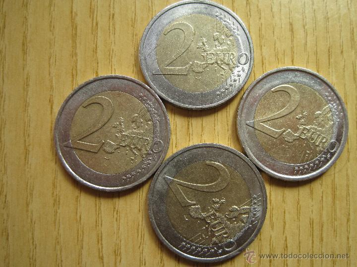 Euros: 2 EUROS CONMEMORATIVAS 10º ANIVERSARIO / HOLANDA / ALEMANIA / FRANCIA - Foto 2 - 49191245