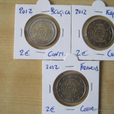 Euros: 2 EUROS CONMEMORATIVAS ENCARTONADAS 2012. Lote 49192043