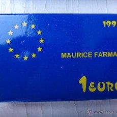 Euros: MONEDA PLATA 1 EURO 1997 , MAURICE FARMAN , CON CAJA Y GARANTIA , OFICIAL , ORIGINAL ,H. Lote 49465350