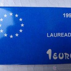 Euros: MONEDA PLATA 1 EURO 1998 , LAUREADA , CON CAJA Y GARANTIA , OFICIAL , ORIGINAL ,H. Lote 49465726