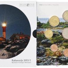 Euros: EUROS FINLANDIA 2013. CARTERA OFICIAL (EURO SET) SIN CIRCULAR.. Lote 51160938