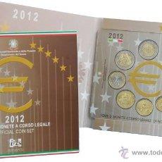 Euros: CARTERA EUROS ITALIA 2012. EMISIÓN OFICIAL (EURO SET) SIN CIRCULAR.. Lote 51245437