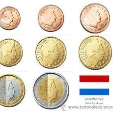 Euros: SERIE / SET LUXEMBURGO 2015 8 MONEDAS . Lote 51798480