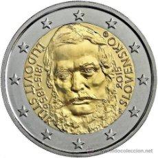 Euros: ESLOVAQUIA / SLOVAQUIA 2 EUROS 2015 200º ANIVERSARIO DEL NACIMIENTO DE LUDOVIT STUR. Lote 255016665