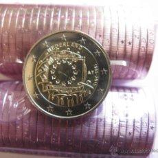 Euros: MONEDA 2 EUROS HOLANDA 2015 - 30 ANIVERSARIO DE LA BANDERA EUROPEA. Lote 101133211