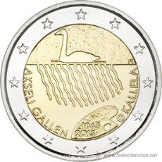 Euros: FINLANDIA 2 EUROS 2015 150 ANIVERSARIO DEL NACIMIENTO DE AKSELI GALLEN-KALLELA. Lote 223309760