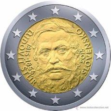 Euros: ESLOVAQUIA 2015. MONEDA DE 2 EUROS CONMEMORATIVA DE LOS 200 AÑOS DEL NACIMIENTO DE LUDOVIT STUR. Lote 195494103
