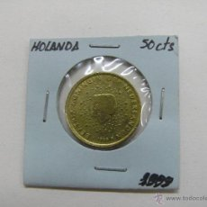 Euros: MONEDA 50 CENTS EURO, HOLANDA 1999. Lote 52811857
