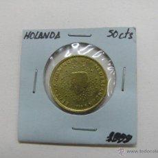 Euros: MONEDA 50 CENTS EURO, HOLANDA 1999. Lote 52811896