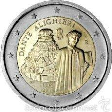 Euros: 2 EUROS CONMEMORATIVA ITALIA 2015 DANTE SC. Lote 269950878