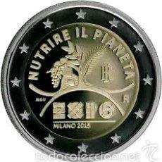 Euros: 2 EUROS CONMEMORATIVA ITALIA 2015 EXPO MILAN SC. Lote 147483684