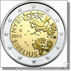 Euros: 2 EUROS CONMEMORATIVA FINLANDIA 2015 JEAN SIBELIUS SC. Lote 147483762