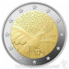 Euros: 2 EUROS CONMEMORATIVA FRANCIA 2015 PAZ SC. Lote 269951028