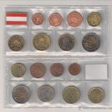 Euros: TIRA DE LAS MONEDAS DE EURO DE AUSTRIA DEL AÑO 2003. SIN CIRCULAR.. Lote 53314848