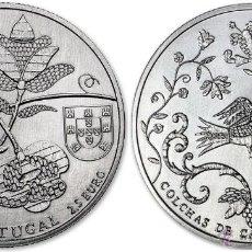 Euros: PORTUGAL 2015 2,5 EUROS SERIE ETNOGRAFÍA PORTUGUESA COLCHAS DE CASTELO BRANCO. Lote 202328442