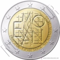 Euros: ESLOVENIA 2015. COINCARD DE 2 EUROS CONMEMORATIVA DE EMONA. Lote 184471777