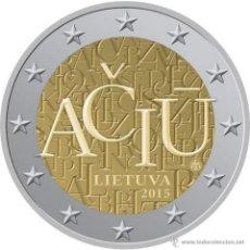 Euros: LITUANIA / LITHUANIA 2 EUROS 2015 IDIOMA LITUANO. Lote 150506254