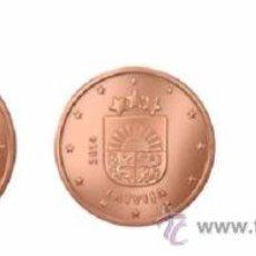 Euros: TRIO CENTIMOS DE EURO 1 - 2 - 5 LETONIA 2014 SC. Lote 137348620