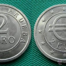 Euros: EURO EN PRUEBA, CHURRIANA, 2 EUROS 1998. Lote 54395272