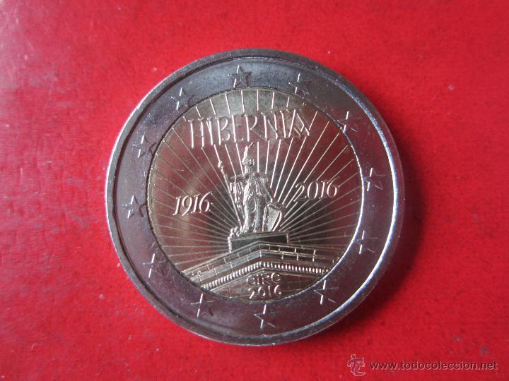 Irlanda 2 Euros Conmemorativos 2016 Hibernia Comprar Monedas