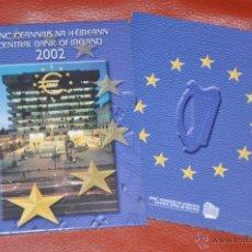 Euros: CARTERA OFICIAL DE EUROS IRLANDA 2002 , 8 MONEDAS. Lote 54564174