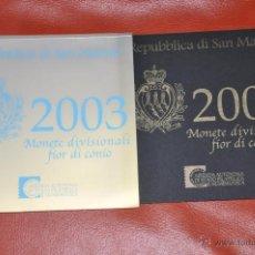 Euros: CARTERA OFICIAL DE EUROS SAN MARINO EURO SET 2003. Lote 54564664