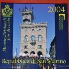 Euros: CARTERA OFICIAL DE EUROS SAN MARINO EURO SET 2004. Lote 54564676