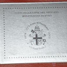 Euros: CARTERA OFICIAL DE EUROS VATICANO EURO SET 2003. Lote 54564733