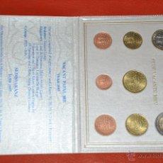 Euros: CARTERA OFICIAL DE EUROS VATICANO EURO SET 2005 SEDE VACANTE. Lote 54564750