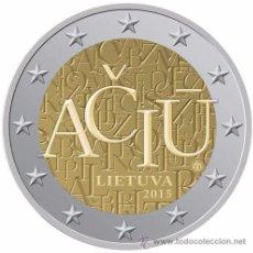 Euros: LITUANIA 2015 2€ CONMEMORATIVA IDIOMA LITUANO. Lote 76683249