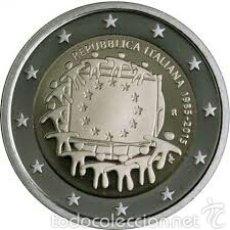 Euros: 2 EUROS CONMEMORATIVA ITALIA 2015 BANDERA EU SC. Lote 269950833