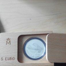 Euros: 5 EURO PLATA. CONMEMORACIÓN DE LA AVIACION 1997 FNMT. EN ESTUCHE. Lote 54889644