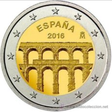 Euros: ESPAÑA 2 EUROS 2016 ACUEDUCTO DE SEGOVIA. Lote 234307540