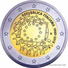 Euros: ITALIA 2015. MONEDA DE 2 EUROS COMUN DE HOMENAJE A LA BANDERA. Lote 143529936