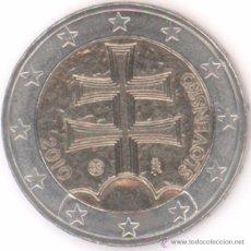 Euros: MONEDA 2 EUROS ESLOVAQUIA 2010 - SIN CIRCULAR. Lote 118728234