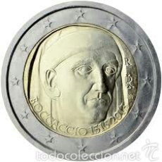 Euros: 2 EUROS CONMEMORATIVA ITALIA 2013 BOCCACCIO SC. Lote 269951113