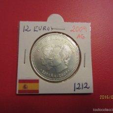 Euros: ESPAÑA 12 EUROS 2009 KM1212 SC PLATA. Lote 56332422